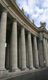 Colonnade bij St. Peter Stock Fotografie