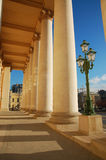 Colonnade of Bolshoi theatre Stock Photos