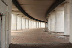 Colonnade of the Central Museum of the Great Patriotic War on Poklonnaya Hill Royalty Free Stock Photos