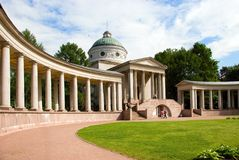 Colonnade and Chapel Royalty Free Stock Photo