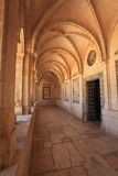 Colonnade of the Church of the Pater Noster Stock Image