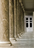 Colonnade Stock Image