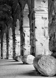 Colonnade of Colosseum Royalty Free Stock Photos