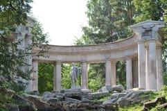 Colonnade d'Apollo dans Pavlovsk Photographie stock