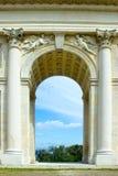 Colonnade dans la République Tchèque image stock