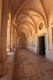 Colonnade de l'église de Pater Noster Image stock