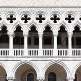 Colonnade of Doge's Palace Royalty Free Stock Images