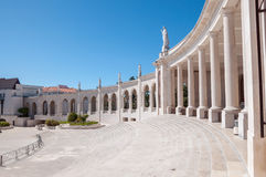 Colonnade of Fatima Sanctuary Royalty Free Stock Photos
