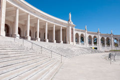 Colonnade of Fatima Sanctuary Stock Images