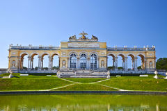 The colonnade Gloriette. Vienna, Austria Royalty Free Stock Photography