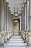 Colonnade in Karlovy Vary. Czech Republic royalty free stock image