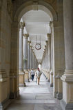 Colonnade in Karlovy Vary Royalty Free Stock Images