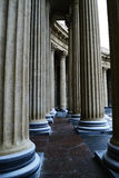 Colonnade of the Kazan Cathedral. In St. Petersburg (Russia Stock Image