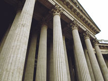 Colonnade of the Kazan Cathedral Stock Image