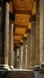 Colonnade of the Kazan Cathedral Stock Images