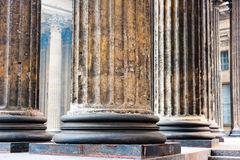 Colonnade known Kazan Cathedral in Petersburg Royalty Free Stock Image