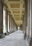 colonnade långa greenwich royaltyfri bild