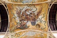 Colonnade Marianske Lazne stock afbeeldingen