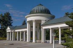 Colonnade in Marianske Lazne Stock Image
