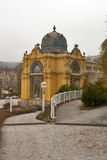 Colonnade in Marianske Lazne (Marienbad Spa) Stock Photo