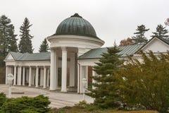 Colonnade in Marianske Lazne (Marienbad Spa) stock photo