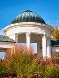 Colonnade in Marienbad royalty-vrije stock fotografie