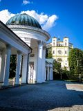 Colonnade with mineral water sources in Marianske Lazne Stock Photo