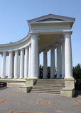 Colonnade in Odesa. Detail of colonnade in Odesa, Ukraine Royalty Free Stock Photos