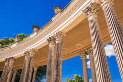 Colonnade of the palace Sans Souci Royalty Free Stock Photos