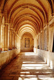 Colonnade at Pater Noster church. In Jerusalem Israel Stock Photography