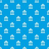 Colonnade pattern seamless blue Royalty Free Stock Photography