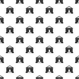 Colonnade pattern vector. Colonnade pattern seamless in simple style vector illustration Royalty Free Stock Image