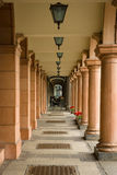 Colonnade. Perspective. Stock Images