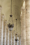 Colonnade in Piazza San Pietro (St Peter's) Royalty Free Stock Image