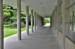 Colonnade in Podebrady Royalty Free Stock Photo