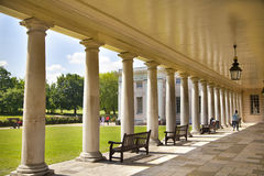 Colonnade of Queen's palace Royalty Free Stock Image