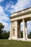Colonnade Reistna, gloriette romantique de classique près de Valtice, Moravie, République Tchèque photos stock