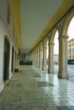 Colonnade at the Republic Square, Split Stock Photography