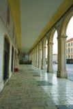 Colonnade at the Republic Square, Split. Croatia Stock Photography