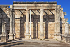 A colonnade in the Roman style Stock Photography