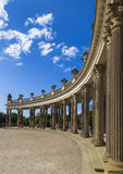 Colonnade Sanssouci Palace Royalty Free Stock Images