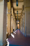 Colonnade in Santarcangelo di Romagna. Italy Europe Royalty Free Stock Images