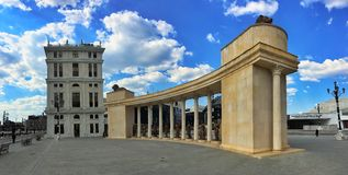 Colonnade in Skopje. Macedonia Stock Photography