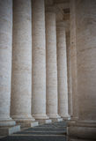 Colonnade on Sr.Peter square. Rome. stock photos
