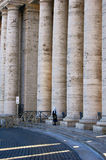 Colonnade of St. Peter's Basilica in Vatican Royalty Free Stock Photos