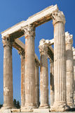 Colonnade of Temple of Olympian Zeus, Athens Stock Photography