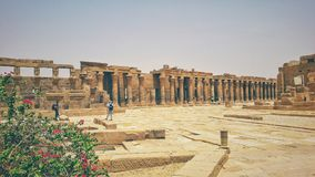 The Temple of Philea in Aswan Royalty Free Stock Photography