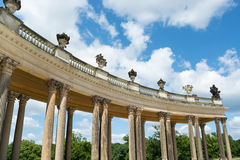 Colonnade from the 18th century in Potsdam Royalty Free Stock Photos