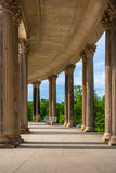 Colonnade from the 18th century in Potsdam, Germany Royalty Free Stock Image