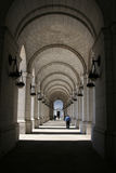 Colonnade at Union Station Washington DC Stock Photography